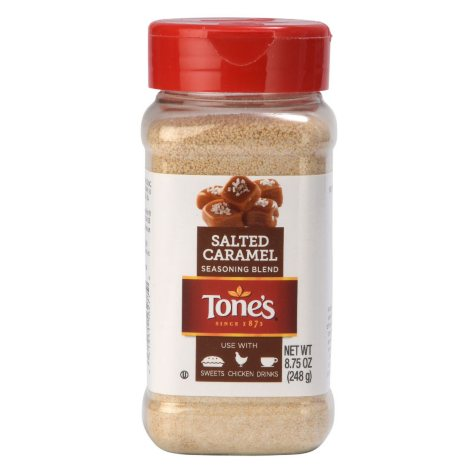 Tone's Salted Caramel Seasoning (8.75 oz.)