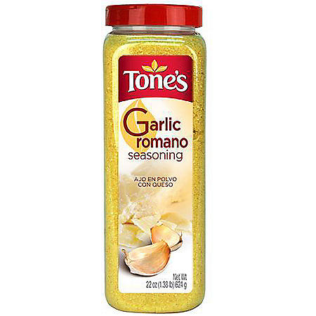 Tone's Garlic Romano Sprinkles - 22 oz.