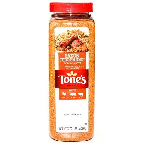 Tone's® Sazon Completo w/o Pepper - 32oz