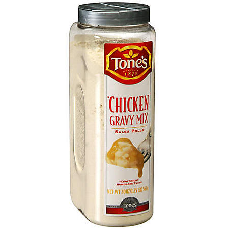 Tone's® Chicken Gravy Mix - 20 oz shaker