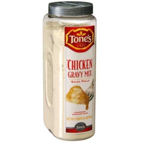 Tone's® Chicken Gravy Mix - 20 oz shaker