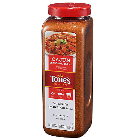 Tone's Cajun Seasoning Blend (22 oz.)