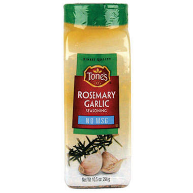 Tone's® Rosemary Garlic Seasoning - 20oz shaker