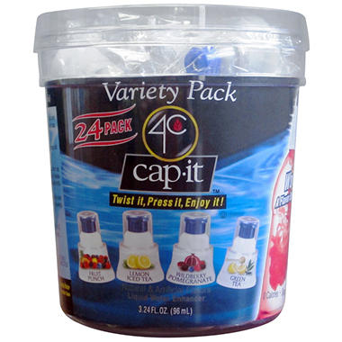 4C Cap-It Liquid Water Enhancer - Variety Pack - 24 ct.