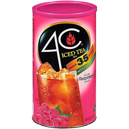 4C Raspberry Iced Tea Mix (92.8oz)