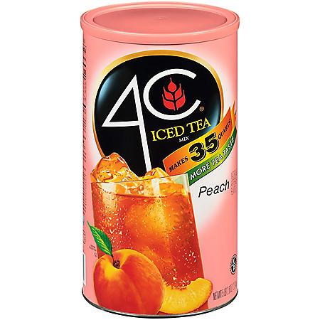 4C Peach Iced Tea Drink Mix (87.9 oz.)