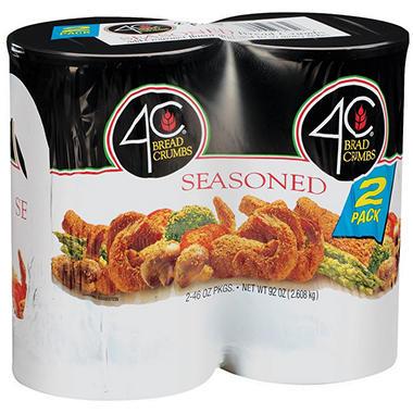Costco Auto Program >> 4C Seasoned Bread Crumbs - 2/46 oz. - Sam's Club