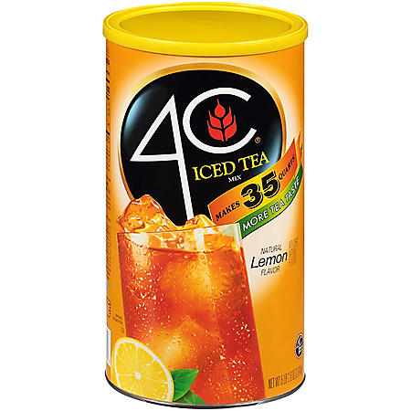 4C Lemon Iced Tea Mix Canister (87.9 oz.)