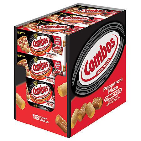 Combos Pepperoni Pizza Cracker Singles (18 ct.)