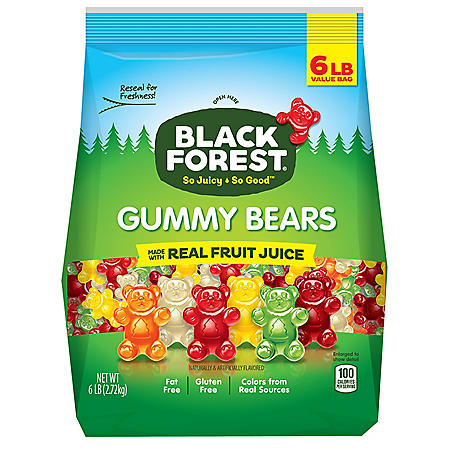 Black Forest Gummy Bears (6 lbs.)