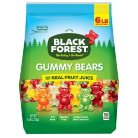 Black Forest Gummy Bears (6 lbs ) - Sam's Club