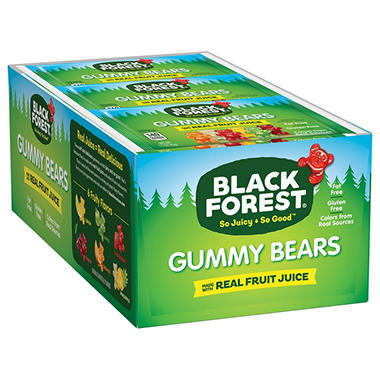 Black Forrest Gummy Bears (24 ct.)