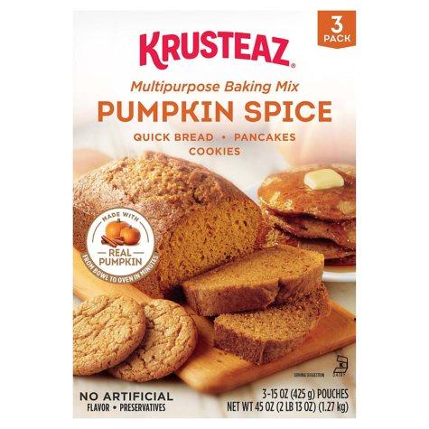 Krusteaz Pumpkin Spice Baking Mix (45 oz.)