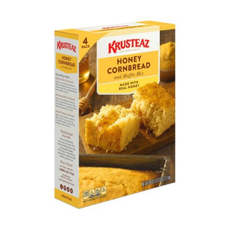 Krusteaz Honey Cornbread (60 oz., 4 pk.)