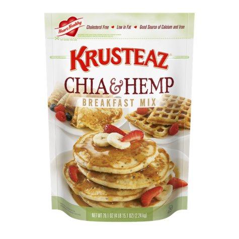 Krusteaz Chia & Hemp Breakfast Mix (79.1 oz.)
