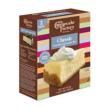 The Cheesecake Factory Classic Cheesecake Mix (19 oz., 2 pk.)
