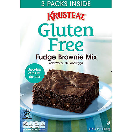 Krusteaz Gluten Free Fudge Brownie Mix (3 pk.)