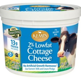Kemps 2% Low Fat Cottage Cheese (3 lbs.)