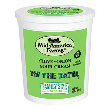 Mid-America Farms Top the Tater Sour Cream (32 oz.)