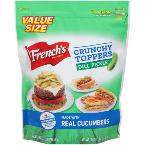 French's Dill Pickle Crunchy Topper (20 oz.)