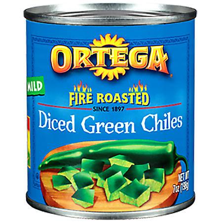 Ortega Diced Green Chiles (7 oz., 8 pk.)