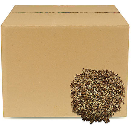 Pecan Pieces, Bulk Wholesale Case (30 lbs.)