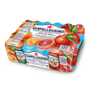 San Pellegrino Sparkling Fruit Beverages Variety Pack (11.15 oz. ea., 25 pk.)