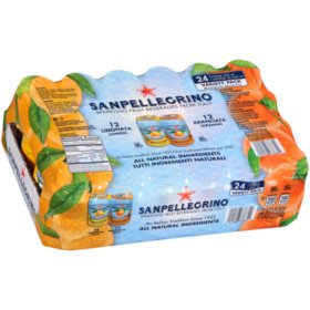 SanPellegrino Sparkling Fruit Beverage Variety Pack (11.15 oz. can, 24 pk.)