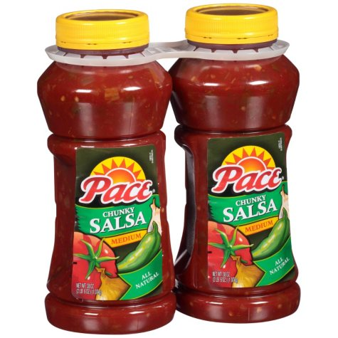 Pace Chunky Salsa, Medium (38 oz., 2 ct.)