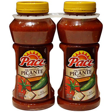 Pace Picante-medium - 2 PACK 38 OZ.
