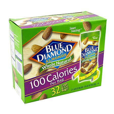 Blue Diamond Almonds Grab-and-Go Bags
