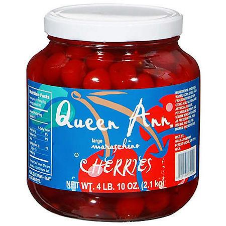 Queen Ann™ Maraschino Cherries - 4 lb. 10 oz.