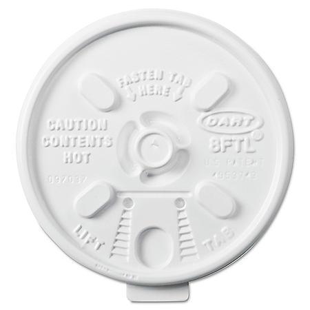 Dart Member's Mark 8 oz. Foam Cup Lids - 1000 ct.