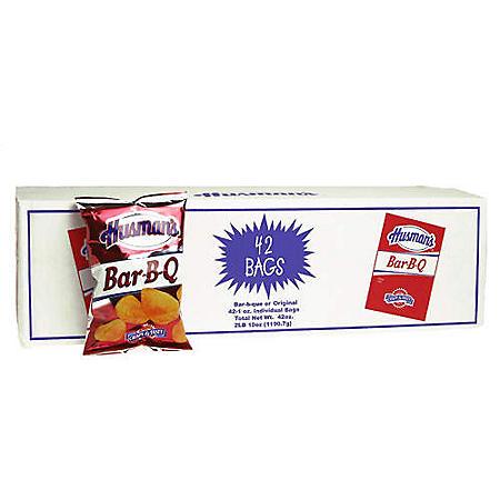 Husman's Bar-B-Q Chips (1 oz., 42 ct.)