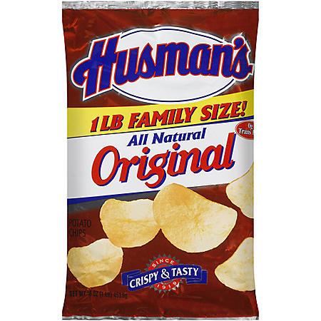 Husman's Potato Chips (1 lb.)