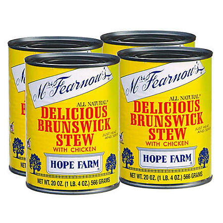 Mrs. Fearnow's® Stew w/ Chicken - 4/20oz cans