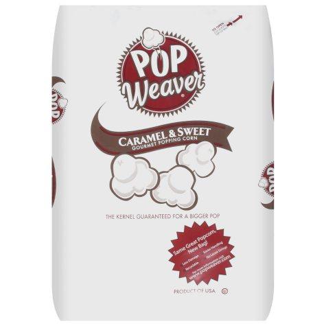 Pop Weaver® Caramel & Sweet Popping Corn - 50lb