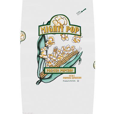 Mighty Pop Premium Popcorn 50 Lb Bag