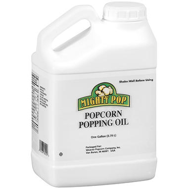 Mighty Pop Popcorn Popping Oil - 1gal jug
