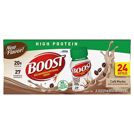 BOOST High Protein, Café Mocha (8 fl. oz. 24-pack)