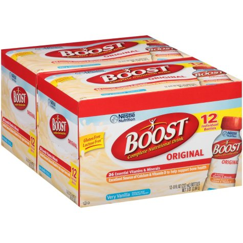 Boost Very Vanilla Complete Nutritional Drink - 8 fl. oz. - 24 ct.