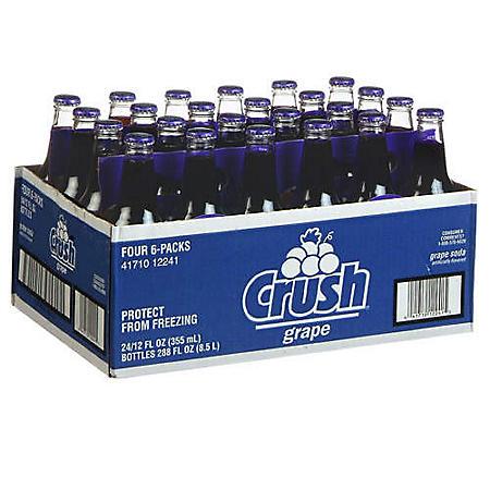 Grape Crush® - 24/12 oz. bottles