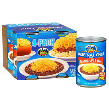 Skyline Chili - 4/15 oz. cans