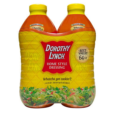 Dorothy Lynch Home Style Dressing - 32 oz. 2 pk.