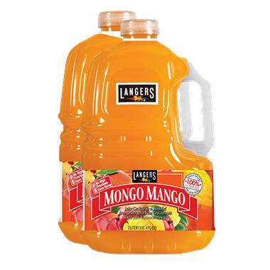 Langers Mongo Mango Juice Cocktail (3 L, 2 pk.)