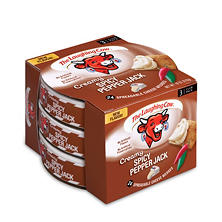 The Laughing Cow Creamy Spicy Pepper Jack Cheese (6 oz. pks., 3 ct.)