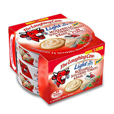 Laughing Cow Mozzarella Wedge