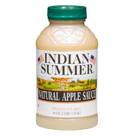 Indian Summer Natural Unsweetened Applesauce (8 pk., 48 oz.)