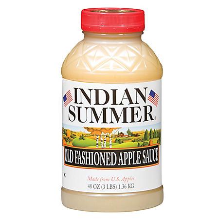 OFFLINE-Indian Summer Old Fashioned Regular Applesauce (8 pk., 48 oz.)