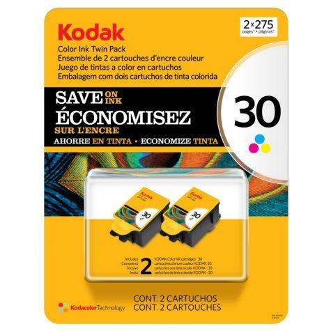 Kodak 30 Series  Ink Cartridge, Color (2 pk., Page Yield 275)